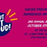 Suicide Prevention and Awareness Event led by Shout Out Load